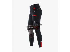 Rexa Knee Patch Gel Ladies Pull On Riding Tights Black 1 1024x
