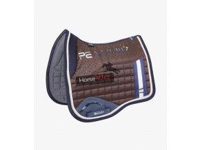 Azzure Anti Slip Satin Dressage Square Brown 1 a3ae3381 e59d 4d7d b885 6389736f8925 768x