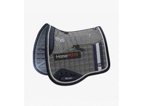 Azzure Anti Slip Satin Dressage Square Grey 1 c06824dd 1cce 4bc5 b38a 60743c43104a 768x