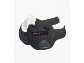 Close Contact Merino Wool European Half Lined GP Jump Square Black Natural 1 768x