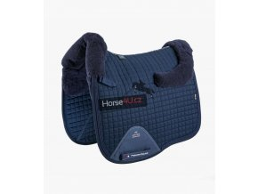 Close Contact Merino Wool European Half Lined Dressage Square Navy 1 768x