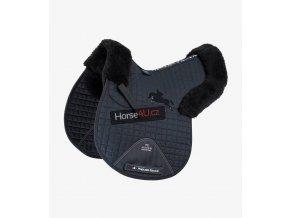 Merino Wool Half Lined GPJump Numnah Black Black 1 768x