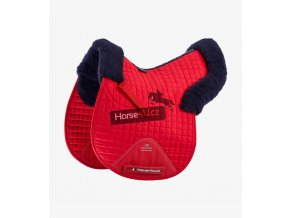 Close Contact Merino Wool European Half Lined GP Jump Square Red Navy 1 768x