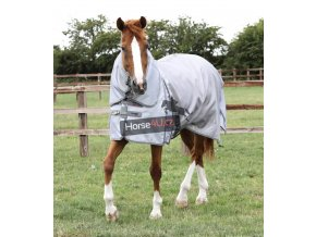 Super Lite Fly Rug with Surcingles Silver 1 1024x