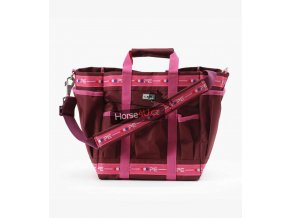 Grooming Kit Bag Wine and Fuchsia 1 768x
