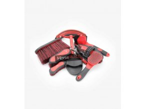 Soft Touch Grooming Kit Black and Red 1 1024x