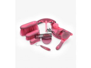 Soft Touch Grooming Kit Sets Wine and Fuchsia 1 768x