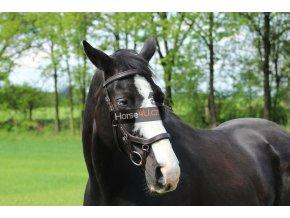 Uzdečka Horse4you original tmavě hnědá