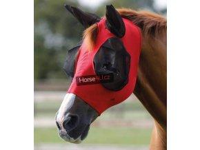 Elastická maska na uši PE Comfort Red