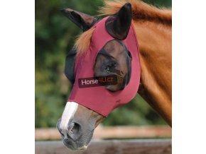 Elastická maska na uši PE Comfort Wine