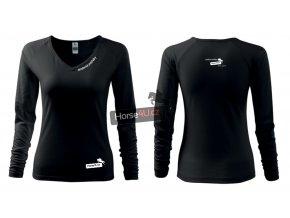 Dámské triko Elegance Černé