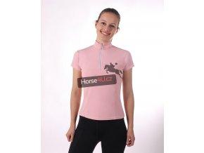 Dámské sportovní triko Tie dye Pink