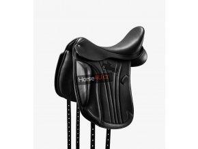 Marseiile Leather Mono Flap Dressage Saddle Black 1 1024x