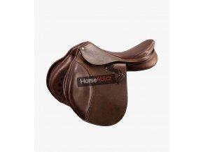 Lyon Leather Close Contact Jump Saddle Brown 1 1024x