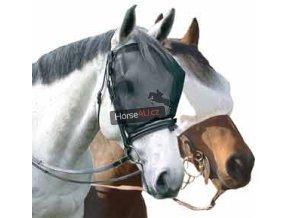 Jezdecká maska proti hmyzu bez uší