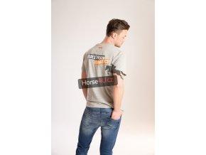 Pánské tričko Eskadron KEN-T Grey Melange