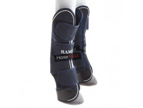 horseware rambo travel boots navy with cream DDAT4A 2