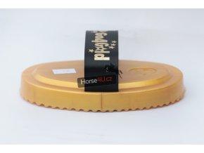 Zlaté plastové hřeblo