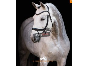 schockemoehle sports anatomic bridle 1101 00044 Equitus Alpha blacksilver side view