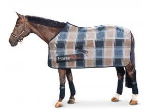 Odpocovací deka Dralon Check
