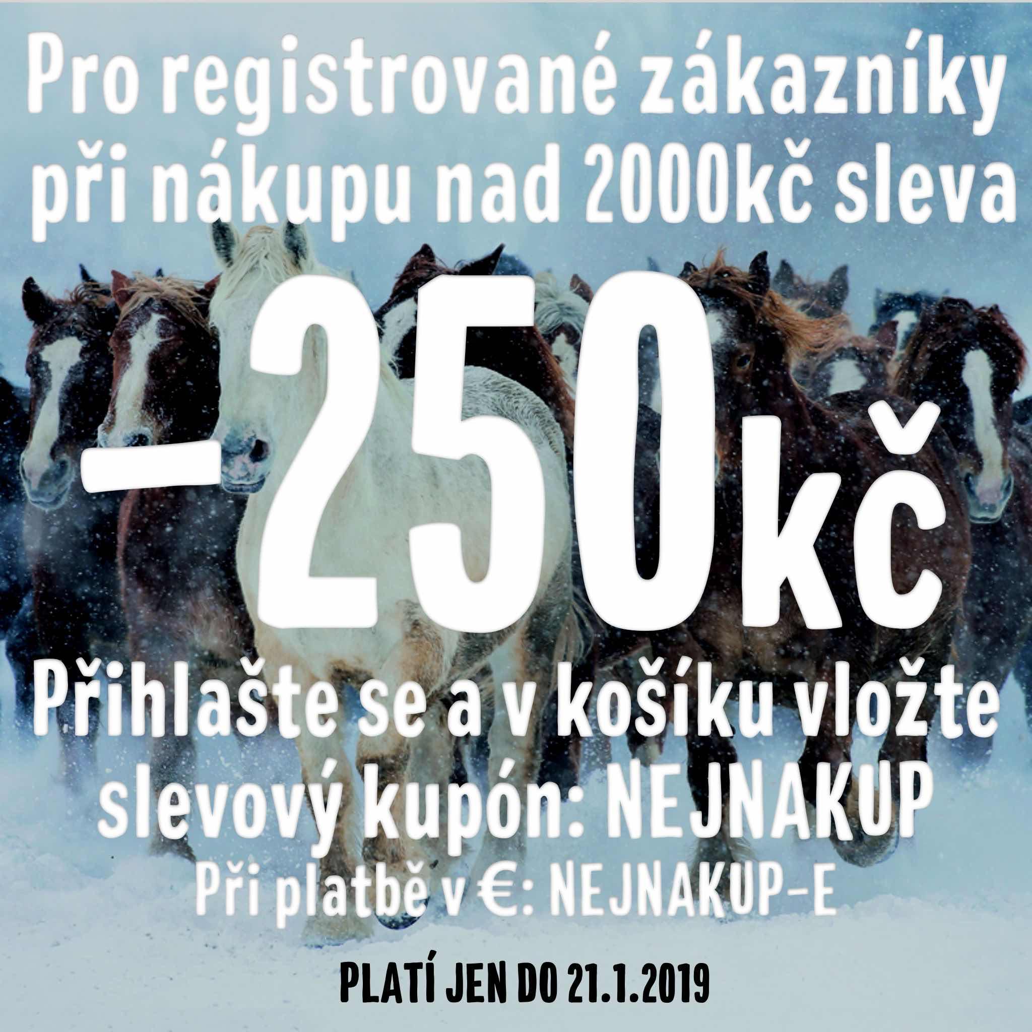 -250Kč pro registrované zákazníky