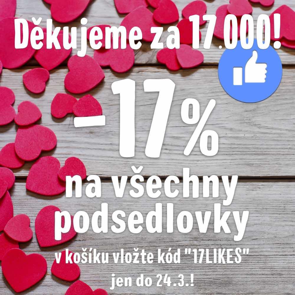 -17% na podsedlovky do 24.3.2019