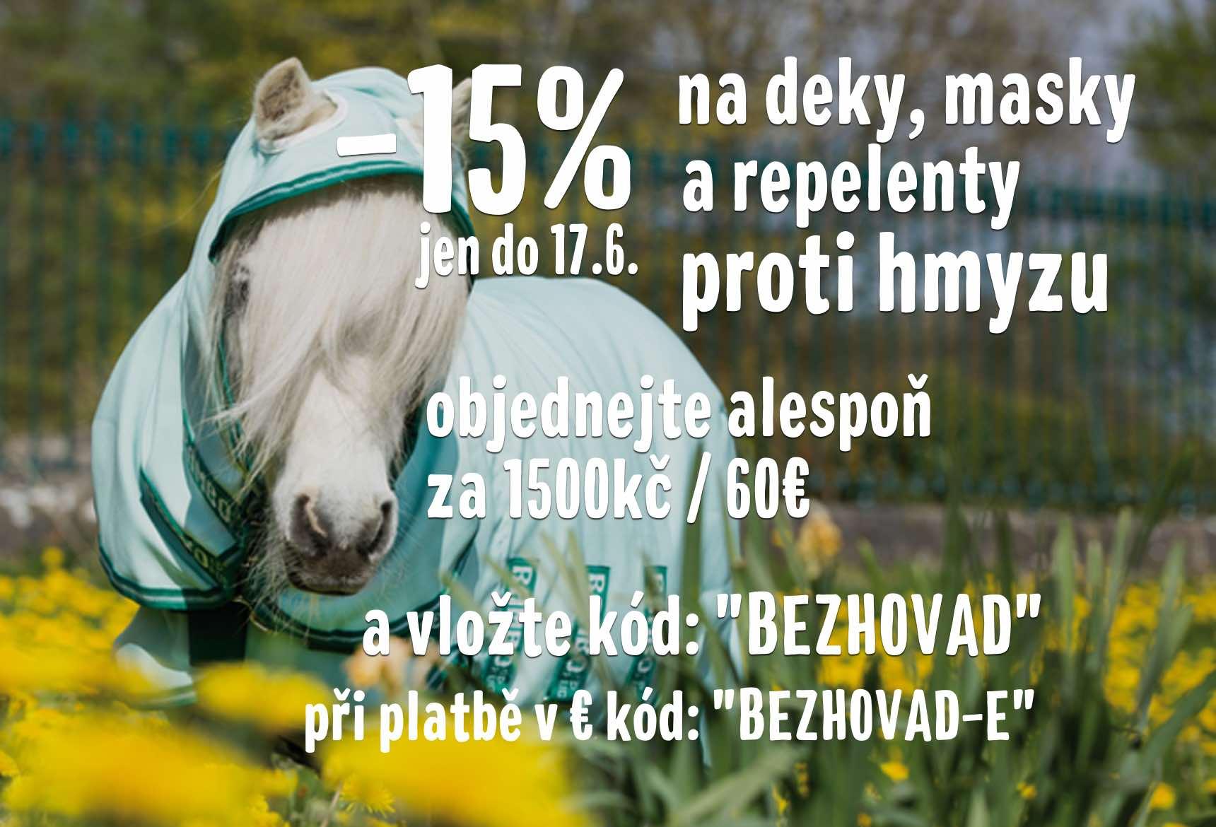 15% sleva na vše proti hmyzu!