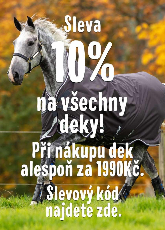 -10% sleva na deky do 30.9.2019