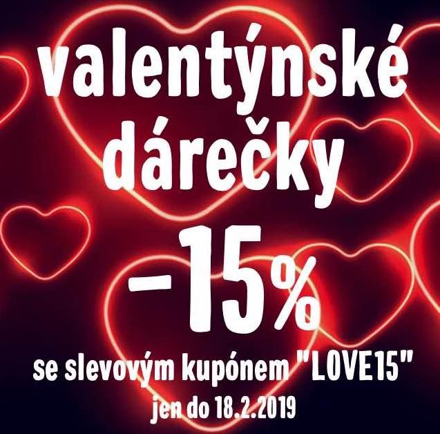 -15% na valentýnské dárečky