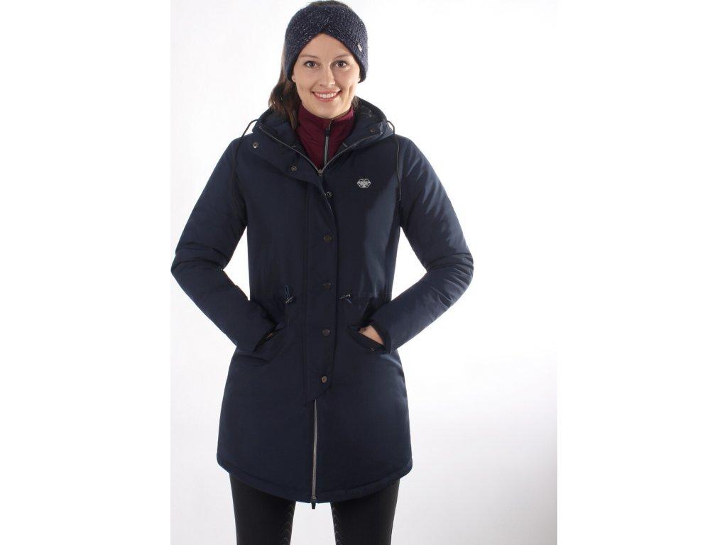 Kabát Linde QHP, dámský, navy