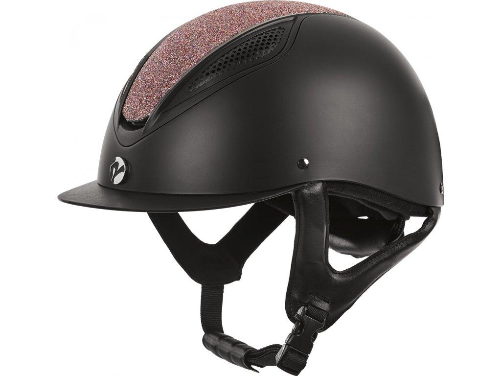 Helma jezdecká Licata BUSSE, černá multi