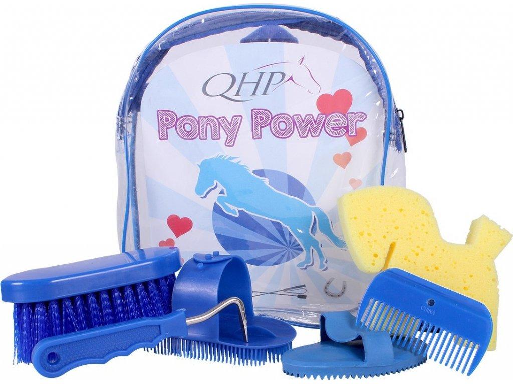 Batoh s čištěním QHP, dětský, cobalt blue
