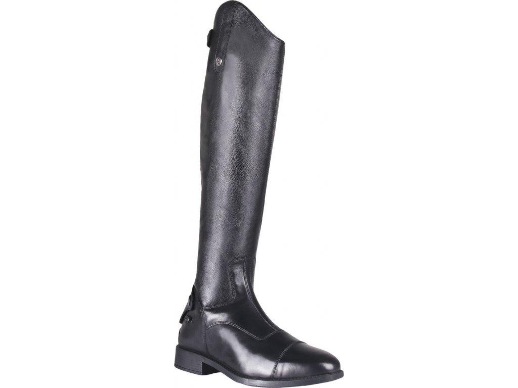 Boty jezdecké Birgit QHP, pro standardní holeň, černé