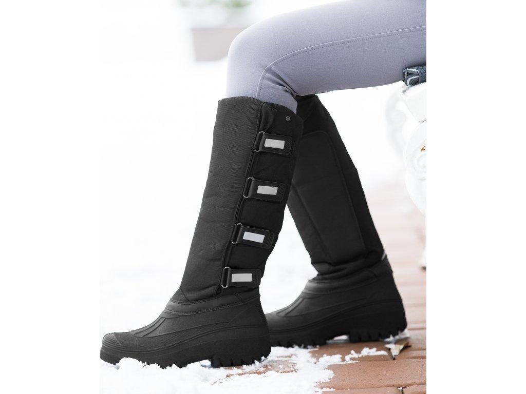 Jezdecké boty Termo Standart ELT, unisex, černé