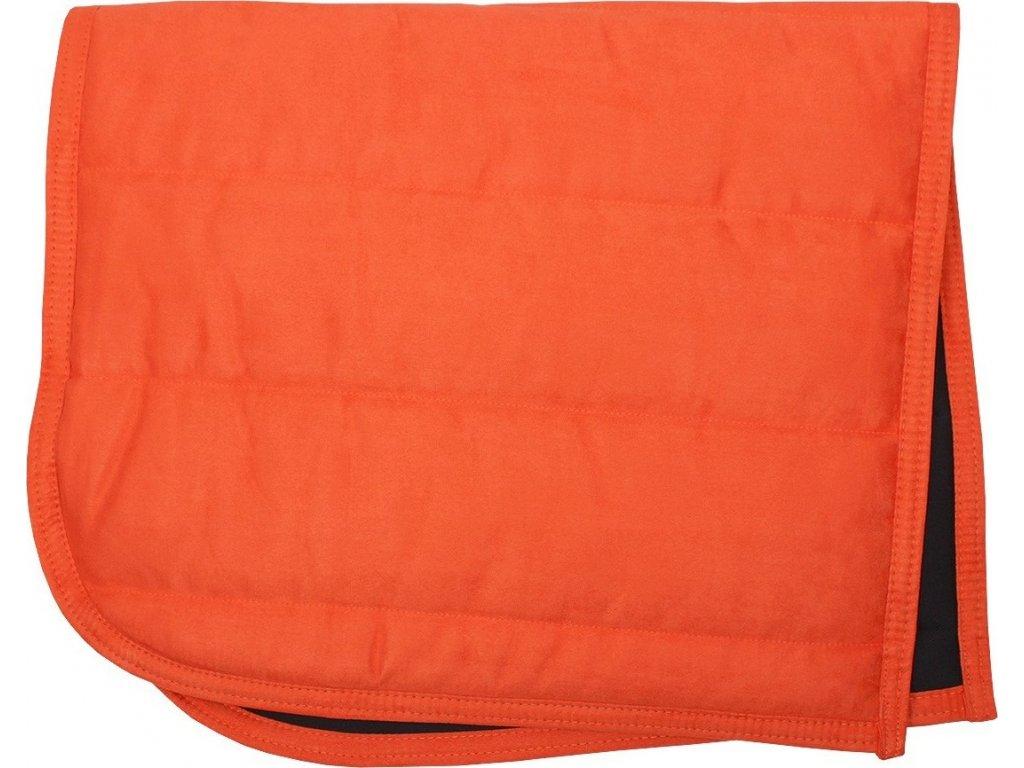 Dečka podsedlová PUFF PAD QHP, orange