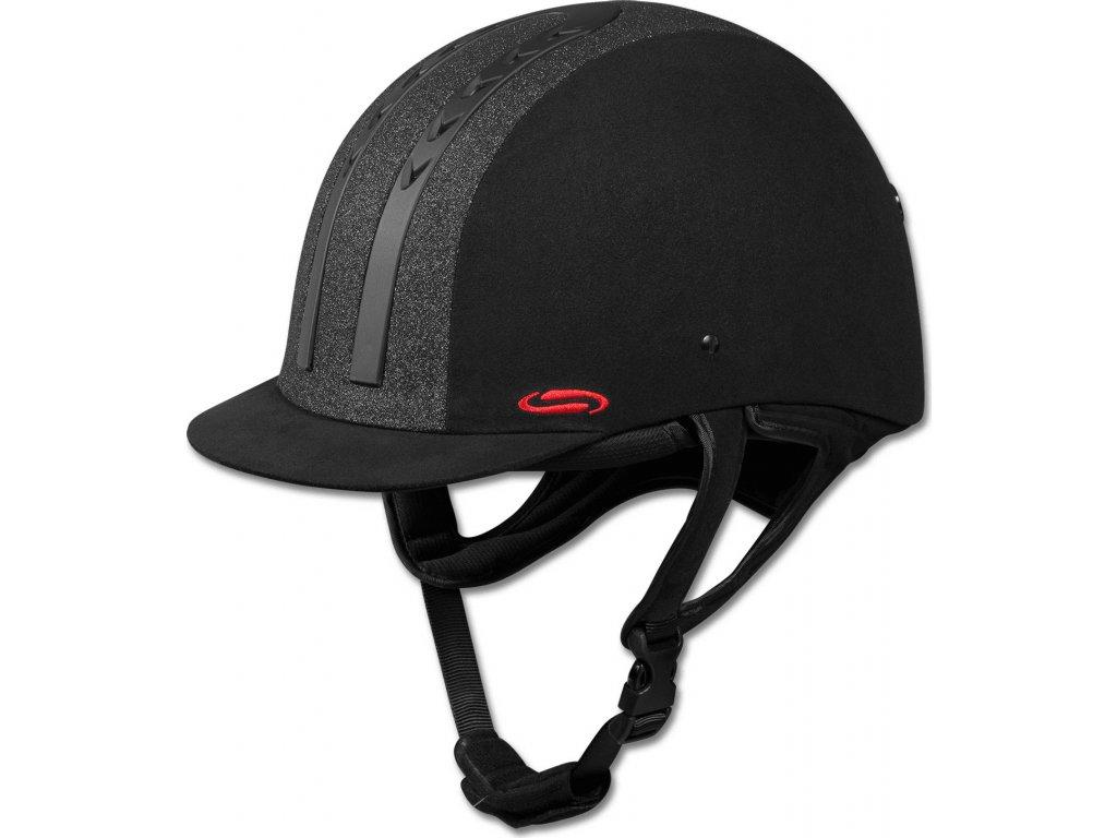 Helma H08 SWING, černá třpytivá