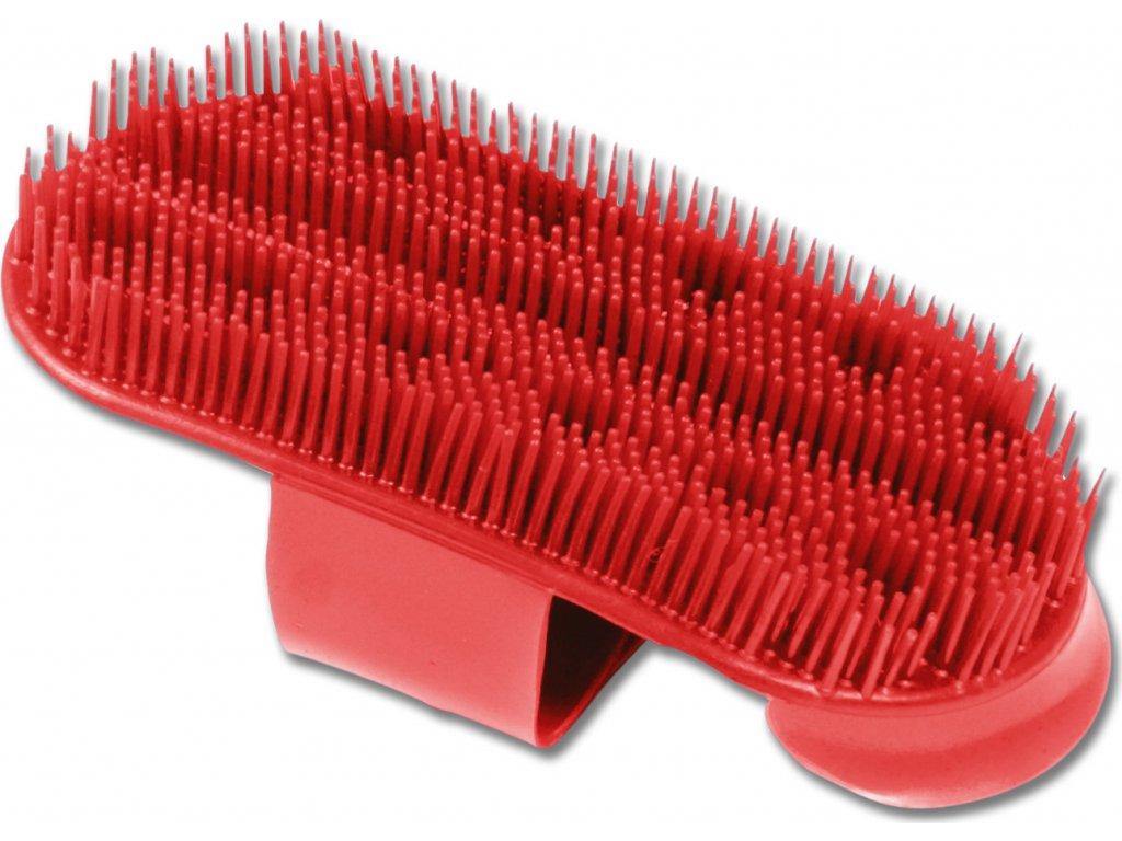Hřbílko plastové Waldhausen, red