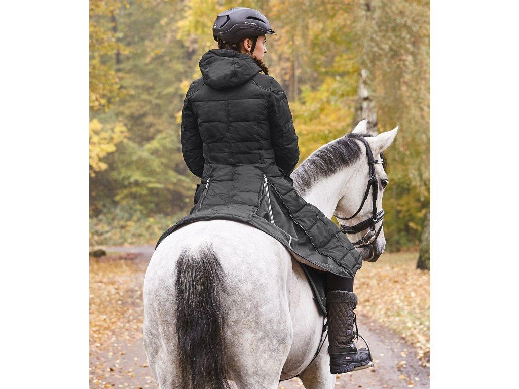 d3e5ca727 Kabát zimní jezdecký Saphira ELT, černý (Barva schwarz, Velikost XXL) ·  3199401 L 90 15 ...