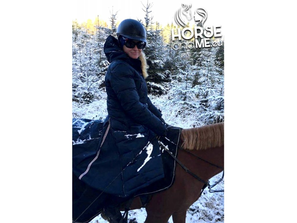 368ef3055 ... Kabát zimní jezdecký Saphira ELT, černý (Barva schwarz, Velikost XXL)  ...