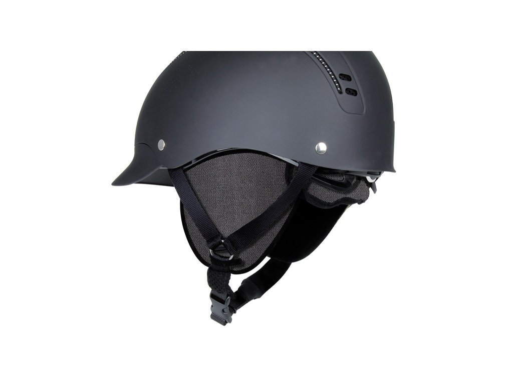 Krytky zimní na uši k helmě Passion CASCO, černé