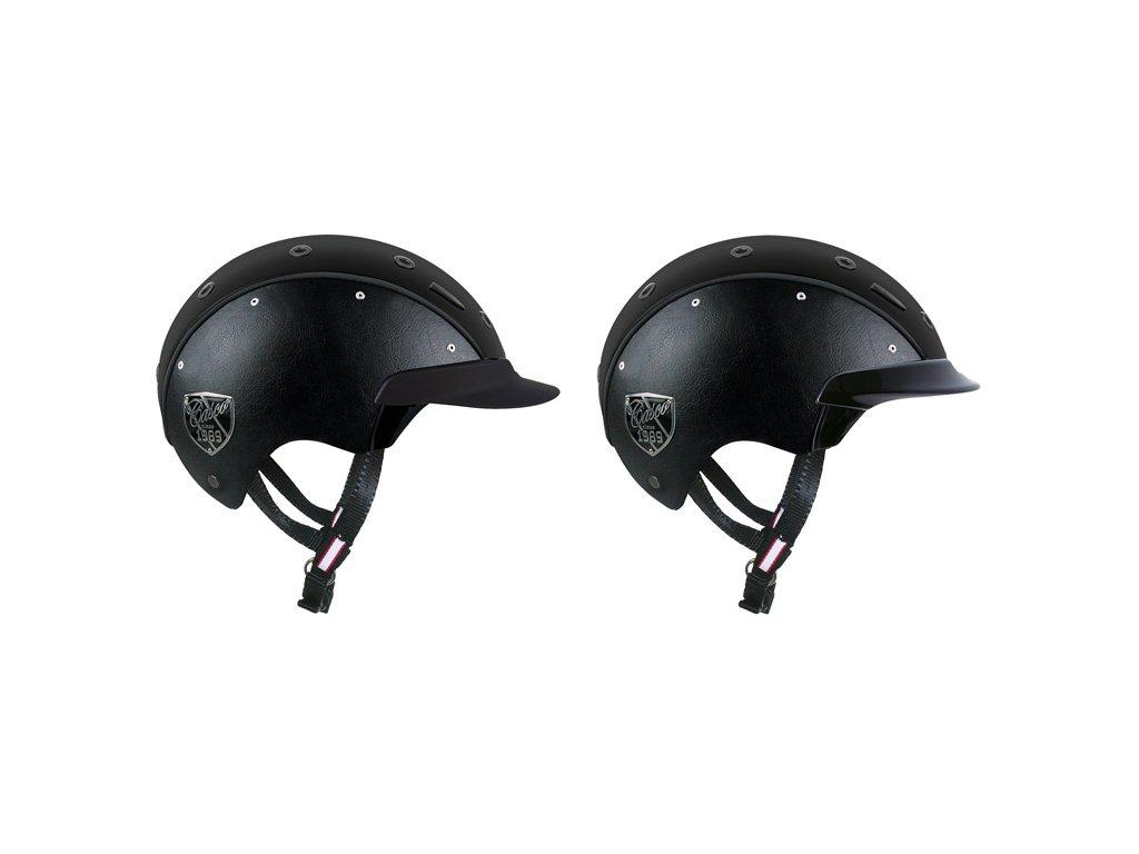 Kšilt na helmu krátký k helmě Champ-6 CASCO, černý