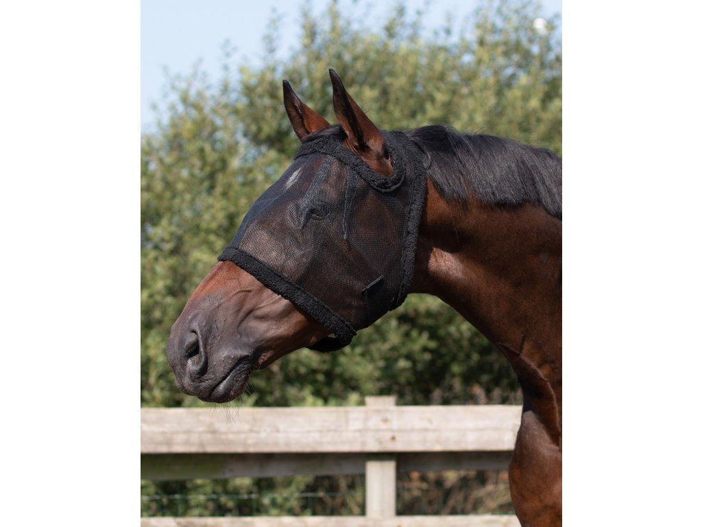 Maska proti hmyzu bez ochrany uší QHP, černá