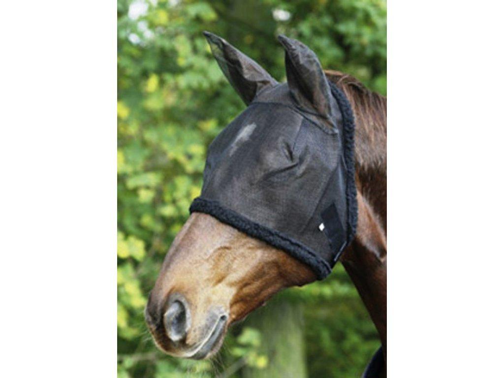 Maska proti hmyzu s ochranou uší USG, černá