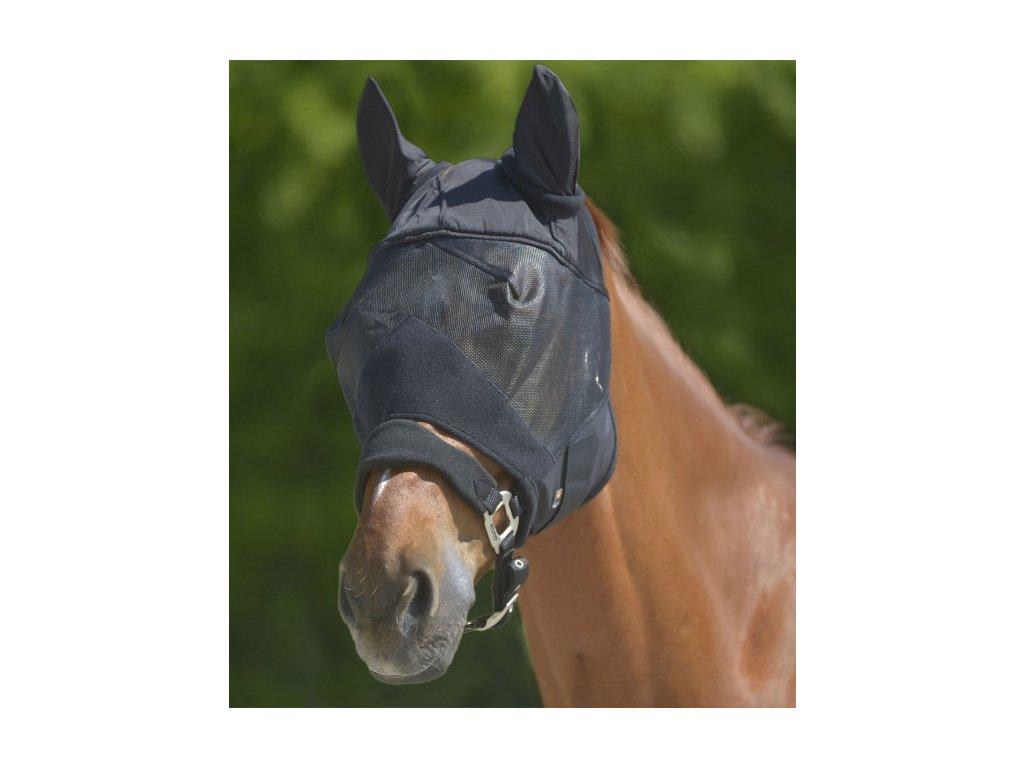 Maska proti hmyzu s ochranou uší Premium Waldhausen, černá