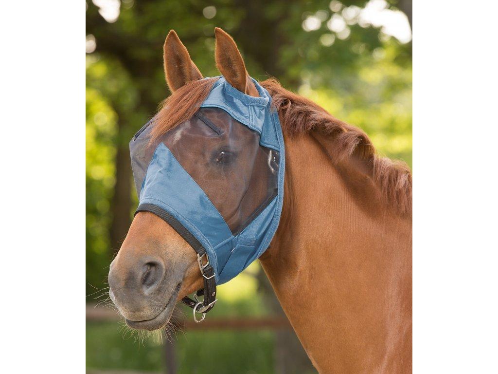 Maska proti hmyzu bez ochrany uší Premium Waldhausen, powder blue