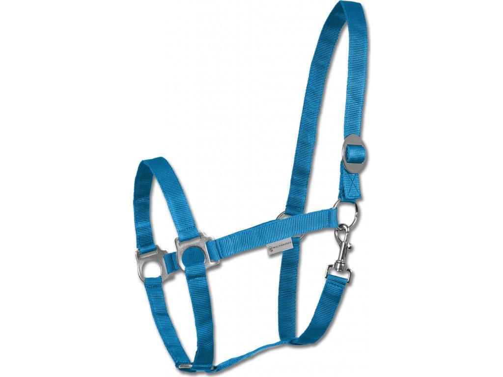 Ohlávka Perlon Waldhausen, azure blue