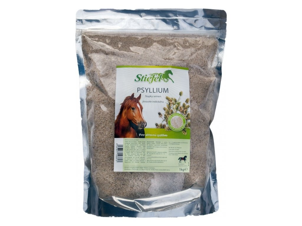 Psyllium slupky semen STIEFEL, 1 kg