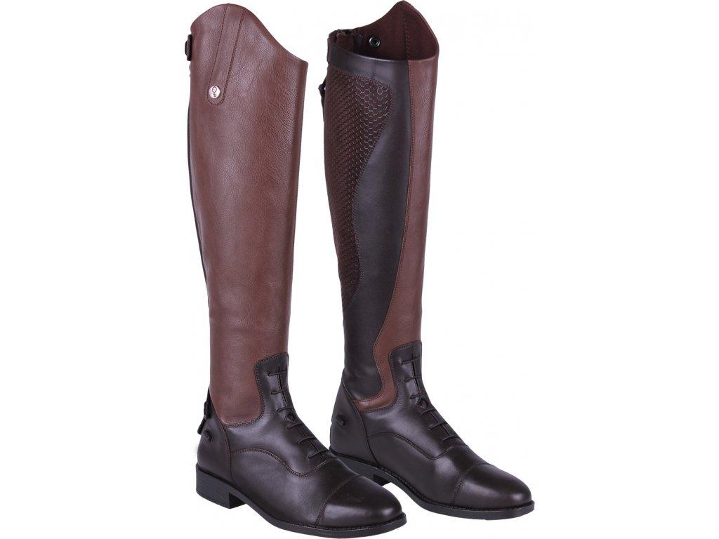 Boty jezdecké Nina QHP, brown