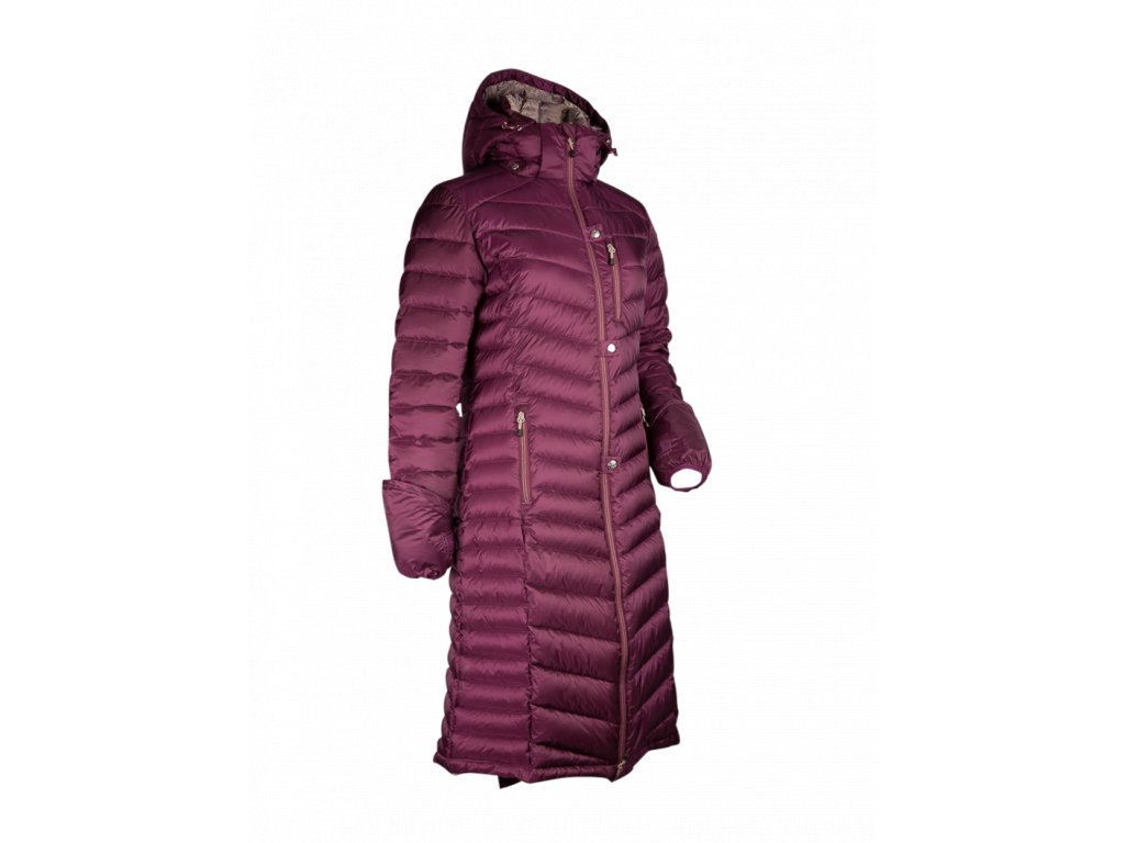 coat nordic 20120 purple F