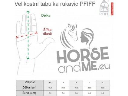 Rukavice jezdecké Soft Fleece PFIFF, dark blue